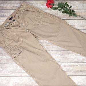Gap Tan Cargo Pants Plus Size 14 Petite Women's